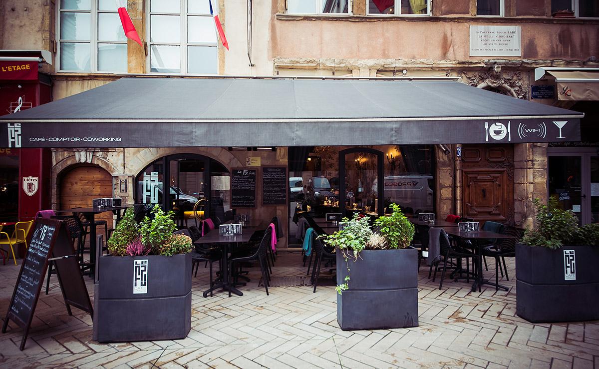 Restaurant avec terrasse lyon 2